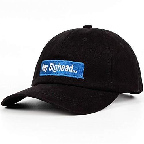 KABMO Baseballmütze Hey Bighead Dad Hat Schlagworte Schlagwort Frauen Männer Caps Stickerei 100% Baumwolle Hey Big Head Casual Baseball Cap