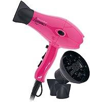 Secador de Pelo Profesional Compacto Ligero con Difusor Rosa (Pink) 2100W Everywhere By AGV