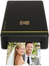 Kodak KPM-210B Stampante Fotografica Mini con Dock per iPhone e Android, Nero