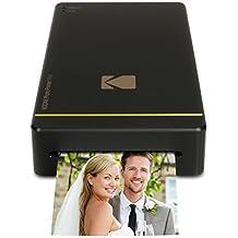 Kodak PM-210 Pintar por sublimación Wifi impresora de foto - Impresora fotográfica (Pintar por sublimación, Cian, Magenta, Amarillo, 16,7 M, Micro-USB, 76,1 mm, 152,8 mm)