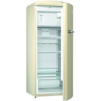 Kühlschrank retro gorenje  Gorenje ORB 153 C Kühlschrank mit Gefrierfach / A+++ / Höhe 154 cm ...