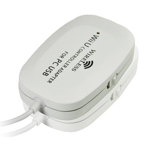 Adaptador USB Mando inalámbrico Wii U Pro PC