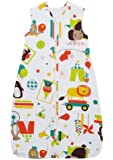 The Gro Company Grobag Carnival 1.0 Tog Travel Baby Sleep Bag (0-6 Months)