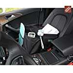 Drive Auto Products Car Organiser (Black) - Storage with Tie Down Straps, Best for Tidy Auto Organization & Boot… 13