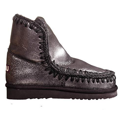 4e477b3bf1b Women s Shoes Boots MOU ESKIMO18 MGBLK Silver 2 H FALL WINTER 2017-18