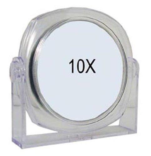 Rucci Clear Vanity Mirror, 1X/10X by Rucci