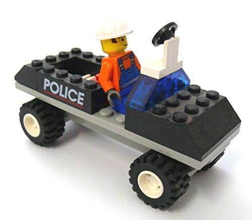 LEGO® Polizeiwagen Polizei Auto Police Car mit Fahrer