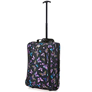 5 Cities Cabin Approved Trolley Bag Equipaje de mano, 54 cm