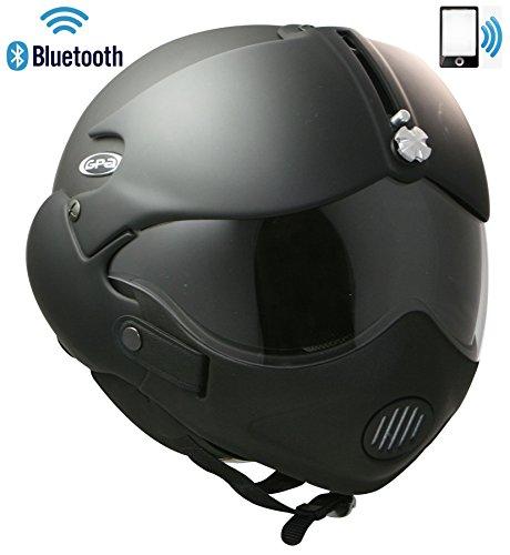 OSBE GPA Open Face moto casco Tornado Bluetooth auricolare citofono radio Phone m + masch