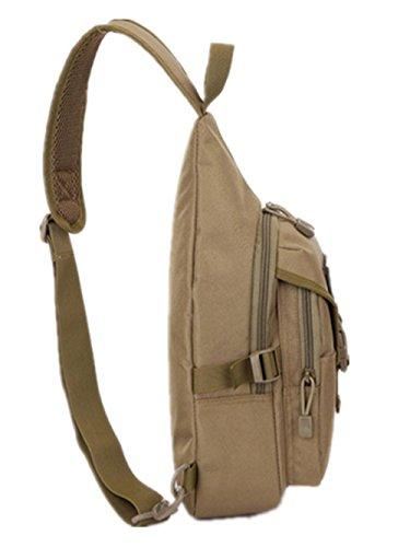 Outdoor-einzelne Diagonale Schulter Brust Tasche Camo 1#
