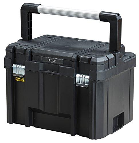 Referencia del fabricante: FMST1-75796CARACTERÍSTICAS Y BENEFICIOSParte del sistema FATMAX TSTAK - un sistema de almacenamiento interconectado y apilable Caja de herramientas de profunda con capacidad de almacenamiento de 10 kg Asa de metal larga - a...