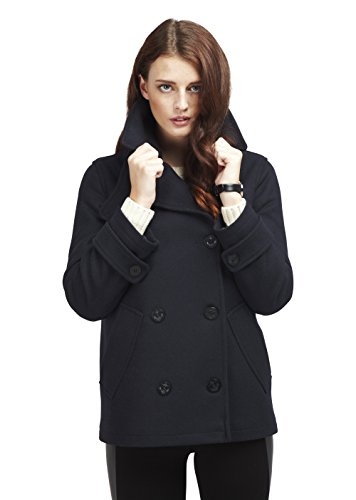 Original Montgomery PEA Coat Damen, Größe XL, Navy