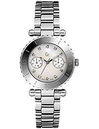 Guess Collection Reloj Analógico para Mujer de Cuarzo con Correa en Acero Inoxidable I30500L1