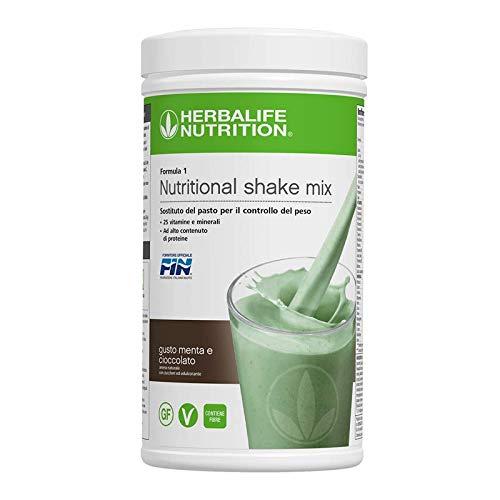 Herbalife Shake Gesunde Mahlzeit - Schoko-Minze, 550 Gramm -