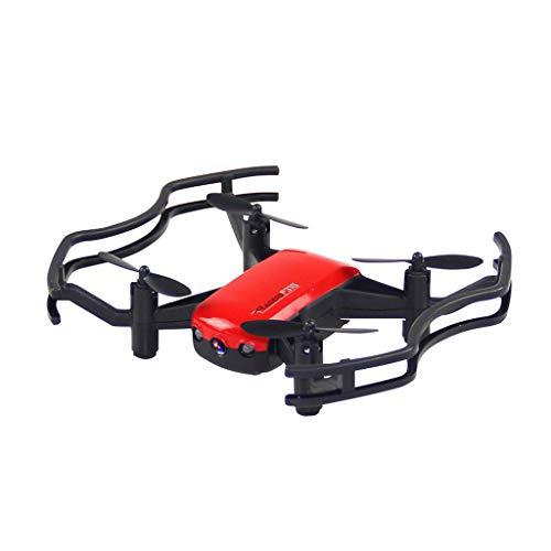 XNBZW F31G RC Drone APP Steuerung Optischer Fluss Auto folgt 2MP HD Kamera Quadcopter(Rot) (Big City Ballons)