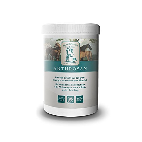 Mühldorfer, Ergänzungsfutter für Pferde, Für Knorpel, Gelenke, Sehnen und Bindegewebe, Arthrosan 0,75 kg
