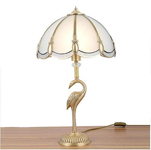 GUANCY Lámpara De Mesa De Cobre Lámpara Tiffany