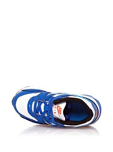 NikeAir Max Command - Scarpe da Ginnastica Basse Unisex per bambini White/Photo blue-Hyper cobalt-Team Orange