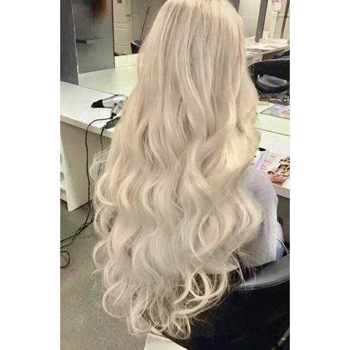 Beauty Makes Human Echthaar Remy Tressen Extensions White Blonde Body Wave Hair Bundle 100g Quality Full Head Weaving Haarverlängerungen 20zoll
