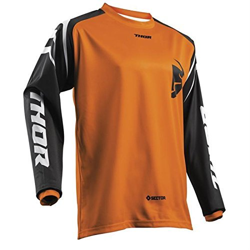 Thor Sector Youth Motocross Kinder Jersey 2018 - orange -