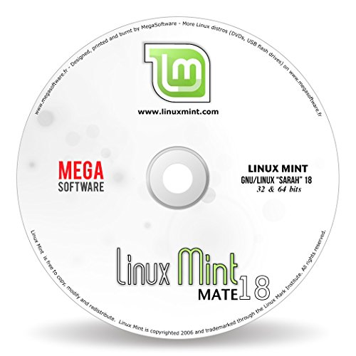 Linux Mint 18 Live – MATE – 32 & 64 bits – DVD