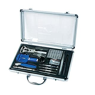 Mannesmann - Juego de herramientas para relojero (maletín de aluminio) (B0019TOATS) | Amazon Products