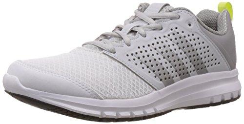 Adidas B40263, Chaussures de course femme Multicolore (Ftwwht/Silvmt/Midgre)