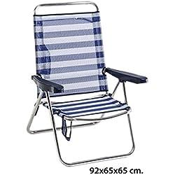 Mejores sillas de playa plegables calidad precio: comparativa