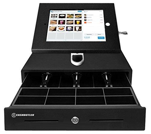 Preisvergleich Produktbild CASHBUTLER iPad Kassensystem, Komplettes Kassensystem für kleinen Preis mit Kasse , iPad Case, iPad Wand/Tischhalterung, Drucker und EC Kartenlesegerät mit Kassensoftware