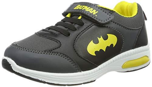 Batman Jungen Boys Kids Athletic Sport Gymnastikschuhe, Grau (Dark Grey Black 230), 30 EU