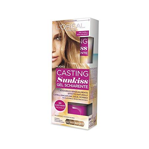 L'Oréal Paris Casting Sunkiss Gel Schiarente da Castano a Biondo - 1 Prodotto