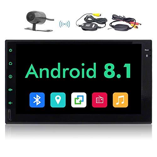 Doppio stereo dell'automobile di baccano, Android 8.1 autoradio Audio Stereo Eincar 7' Doppio Din, quad-core, 2 GB di RAM 16 GB ROM, unit¨¤ GPS di navigazione Head, supporto Bluetooth, Wi-Fi Connectio