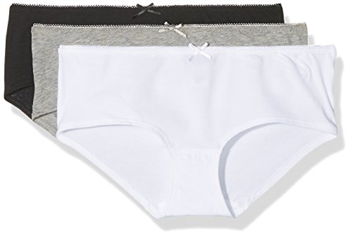 Marc O'Polo Body & Beach Damen Multipack W-Panty 3-Pack Hipster, Mehrfarbig (Sortiert 1 695), 34 (erPack 3