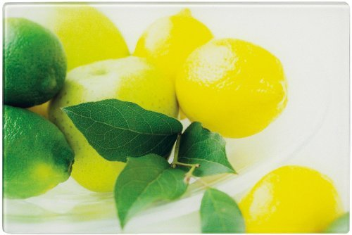 Zeller 26261 Glasschneideplatte Zitrone 30 x 20