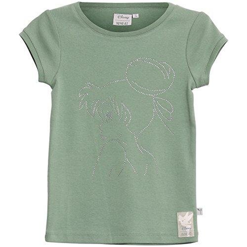 Wheat Mädchen T-Shirt Tinker Bell Rhinestones, Grün (Avocado 4300), 98 (Herstellergröße: 3y) (Mädchen T-shirt Bell)