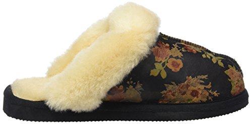 ShepherdJessica - Pantofole donna Multicolore (Spring Flower 74)