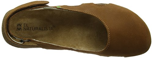 El Naturalista N413 Pleasant Wakataua, Closed-Toe Femme Marron (Wood)