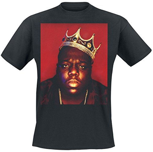 Notorious B.I.G. Face Crown T-shirt noir L