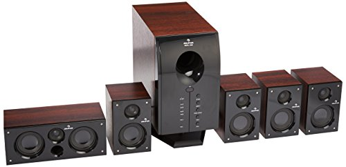 Auna MM-5.1-H XCess 5.1 aktives Surround Boxen Lautsprecher Set (6500 Watt PMPO, 95 Watt RMS)