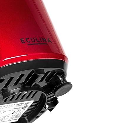 Eculina-Smoothie-Maker-in-silberschwarz-leistungsstarker-Standmixer