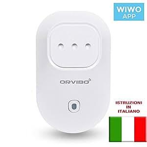Socket ORVIBO S20-IT Presa WiFi, controllo da remoto, Timer, IOS e Android