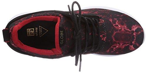 Globe - Roam Lyte, sneakers  da unisex adulto Multicolore(Mehrfarbig (red lava 19882))