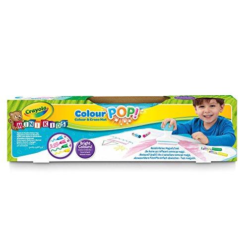 Crayola Mini Kids Color Pop - 81-2006-E-000 - Tapis de Dessin - Coloriage Qui s'Efface à l'eau