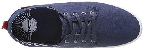 Levis Sunset Basso Pizzo Herren Sneaker Blau - Bleu (17)