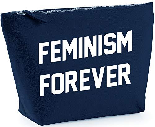 Hippowarehouse Feminism Forever Bolsa de Lavado cosmética Maquillaje Impreso 18x19x9cm