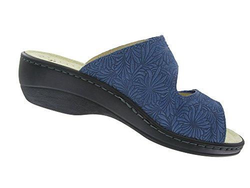 Hickersberger Kräuterschuhe, Zoccoli donna Blu (blu)