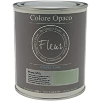 Fleur Paint 13407 - Pintura mineral (base agua, 750 ml) color Miami milk