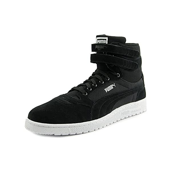 Puma-Mens-Sky-Ii-Hi-Core-Sportstyle-Shoes-Black-Size-10