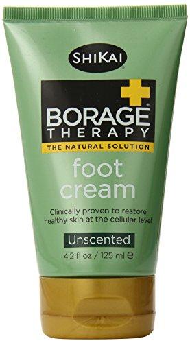 Shikai Borage Dry Skin Foot Cream (1x4.2 Oz)