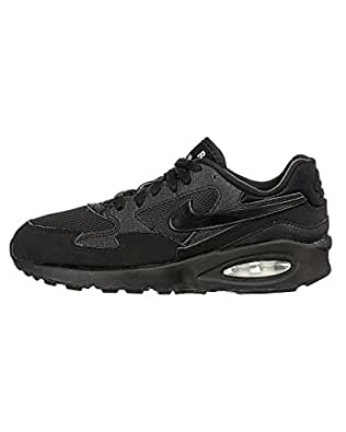 Nike Air Max St (GS), Chaussures de Running Garçon, Multicolor (Black/Grey), 35.5 EU